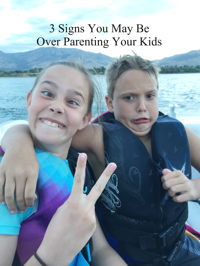 over parenting
