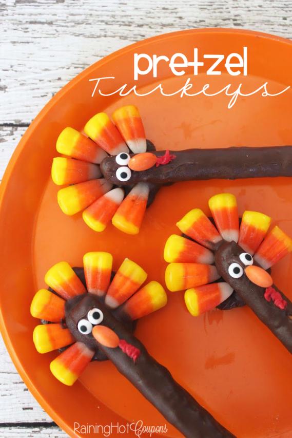pretzel-turkeys
