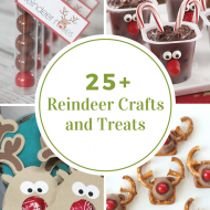 Reindeer Crafts and Treats