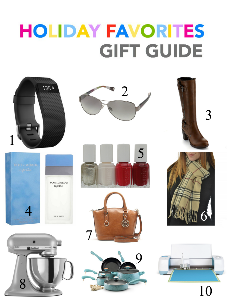 HOLIDAY FAVORITES GIFT GUIDE FINAL