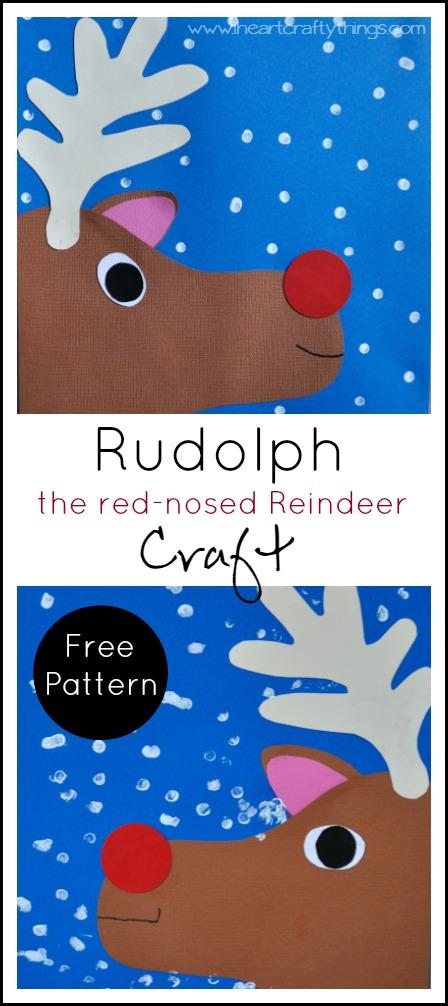 Rudolph Craft Pin