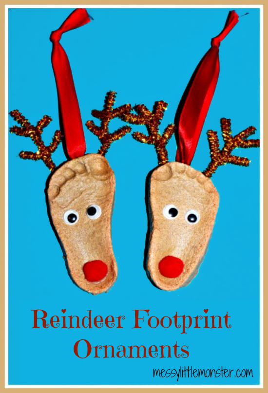 Salt-Dough-Crafts-Reindeer-Footprint-Ornaments
