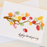 DIY Thanksgiving Decor and/or Card