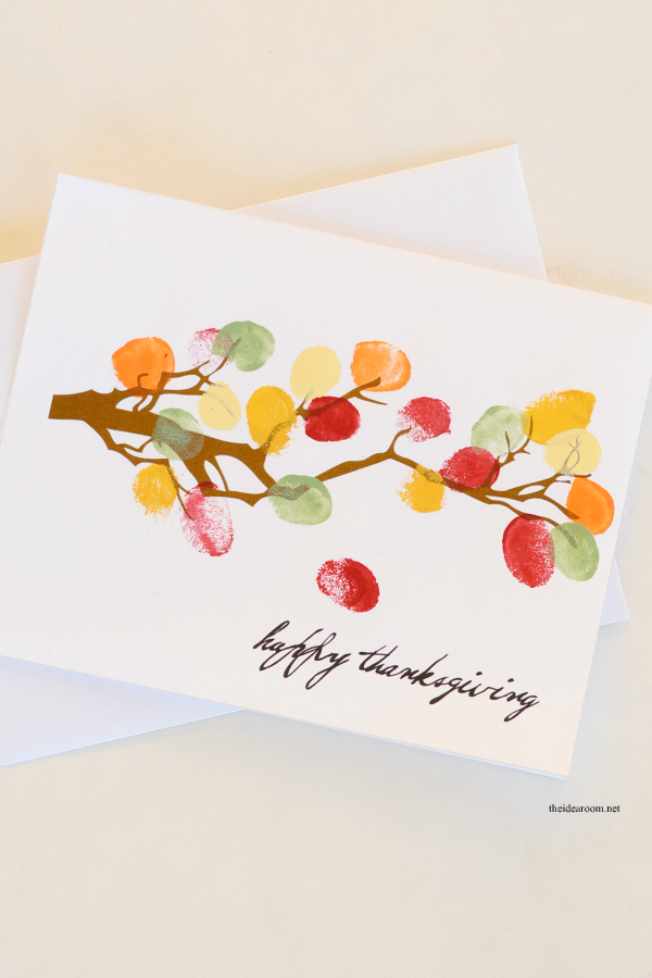 DIY Thanksgiving Decor and/or Card - The Idea Room