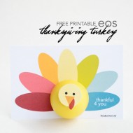 Printable Thanksgiving Turkey