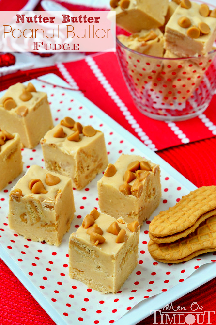 Nutter Butter Peanut Butter Fudge from Mom on TimeOut