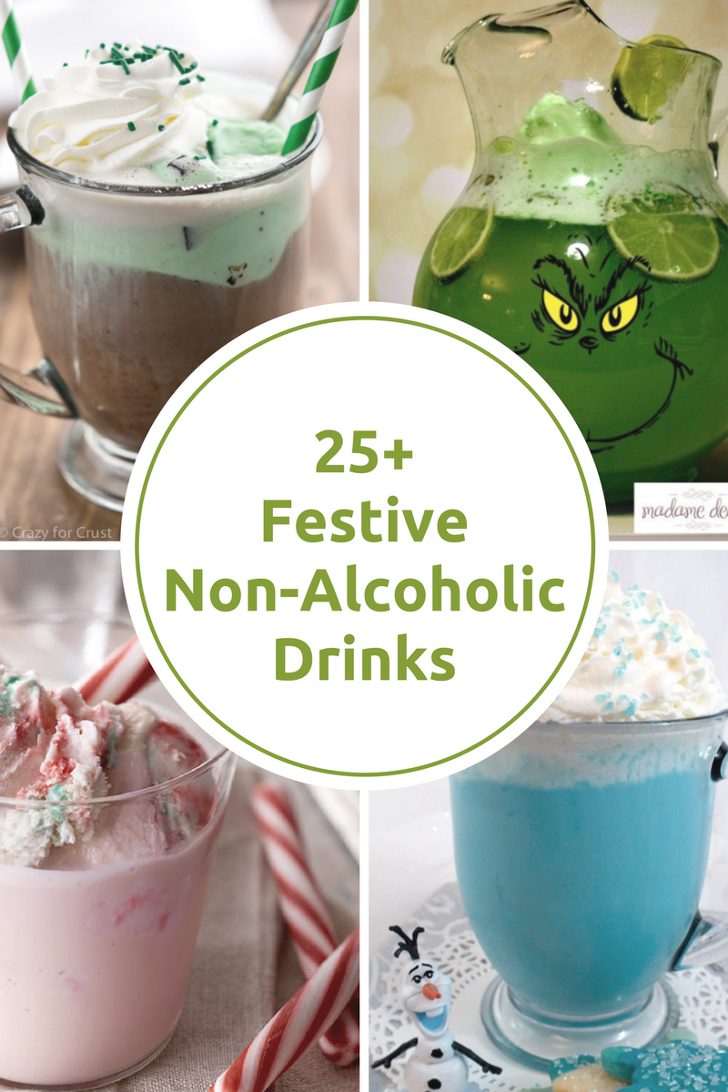 Festive Non Alcoholic Holiday Drinks The Idea Room