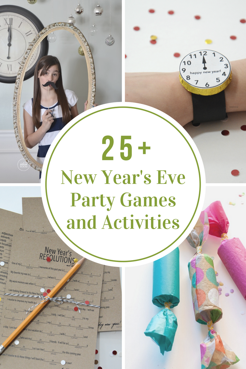 New Year's Eve Party Games and Activities - The Idea Room