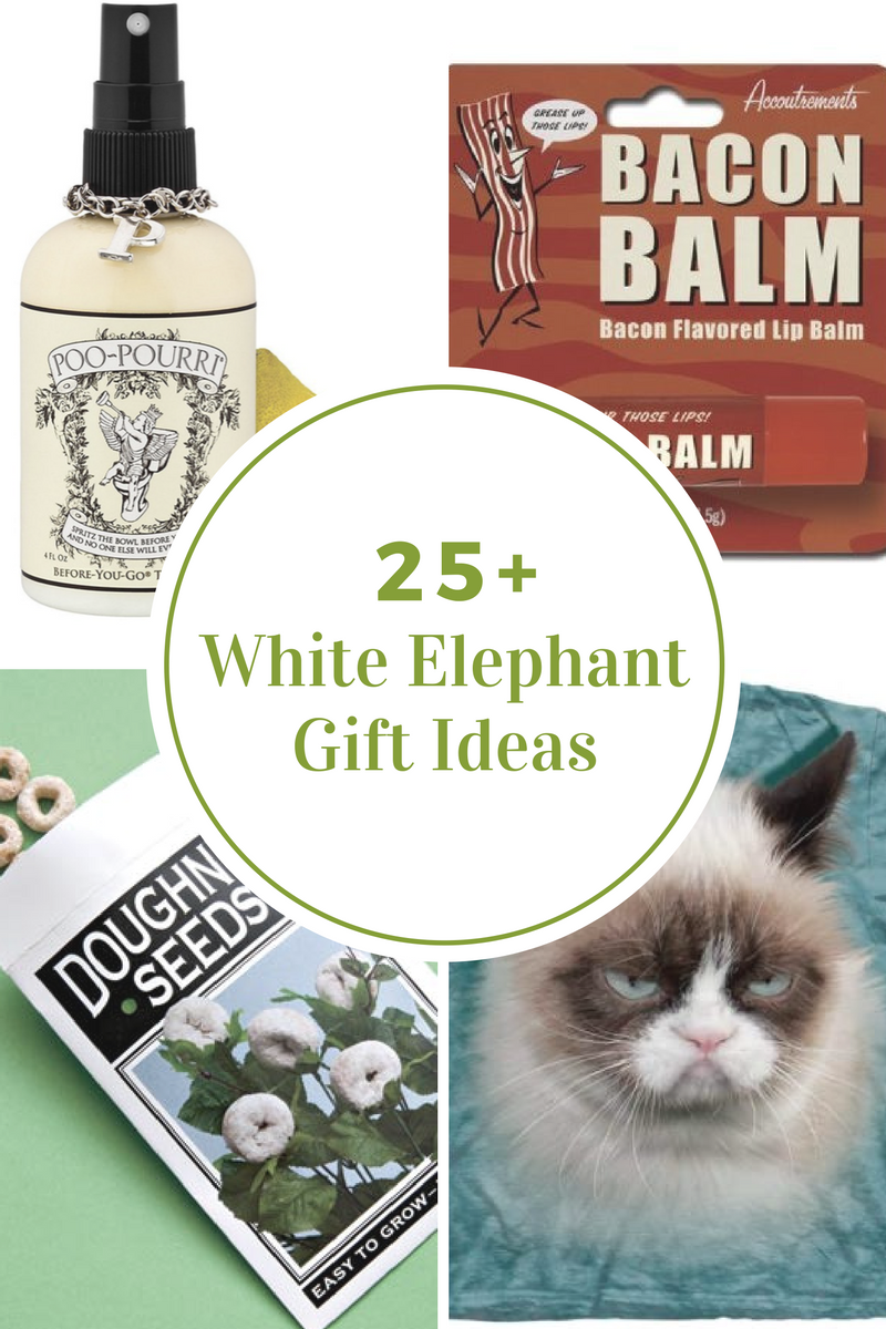 White Elephant Gift Ideas The Idea Room