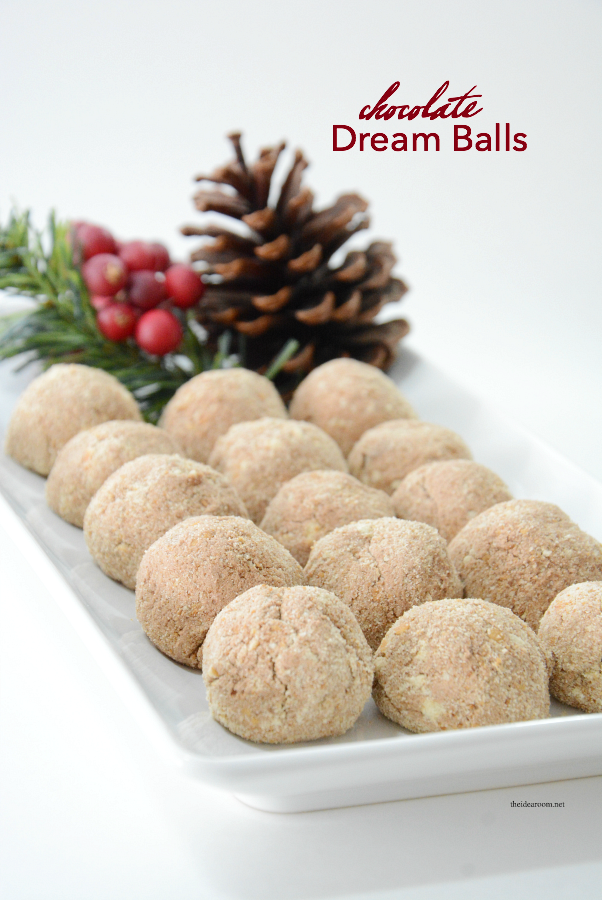 Candy Recipes   Learn how to make these delicious Chocolate Dream Balls. So easy and will be your new favorite homemade candy recipe and new christmas candy recipes.