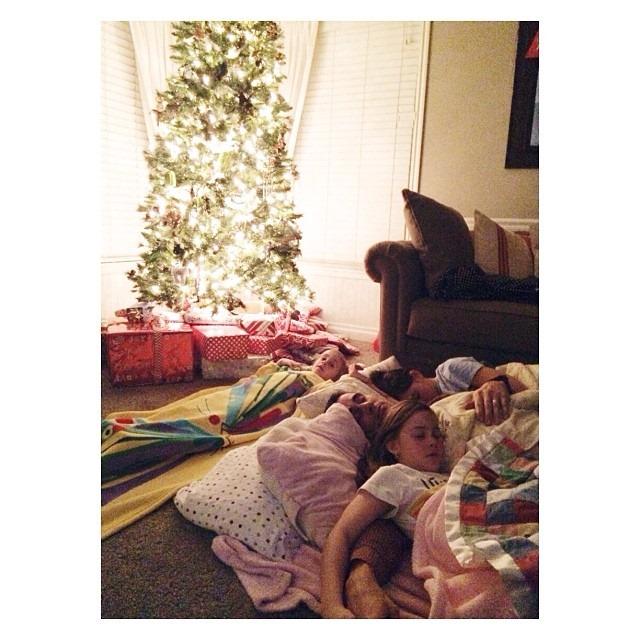 Christmas-Tree-Sleeping