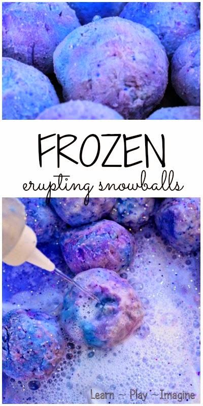 Frozen erupting snowballs (1)