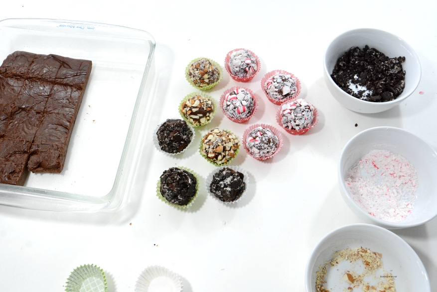 Homemade-Truffles process
