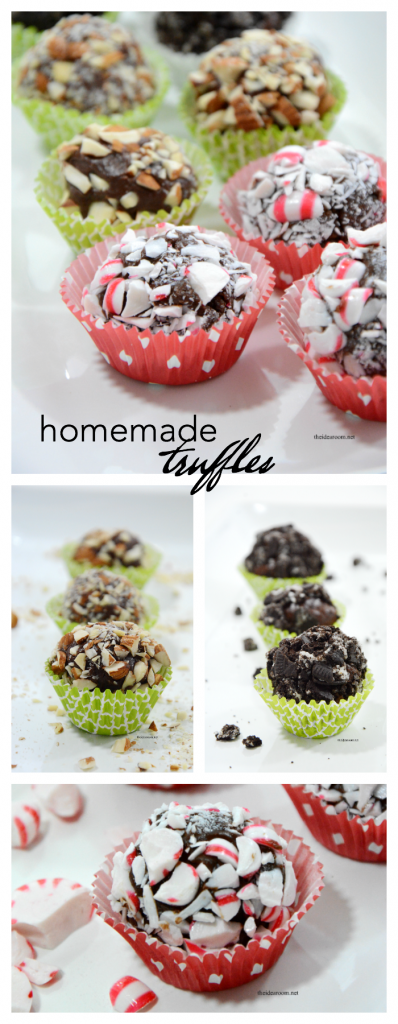 Homemade-Truffles recipe pin