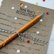 New Year's Eve Resolutions Game