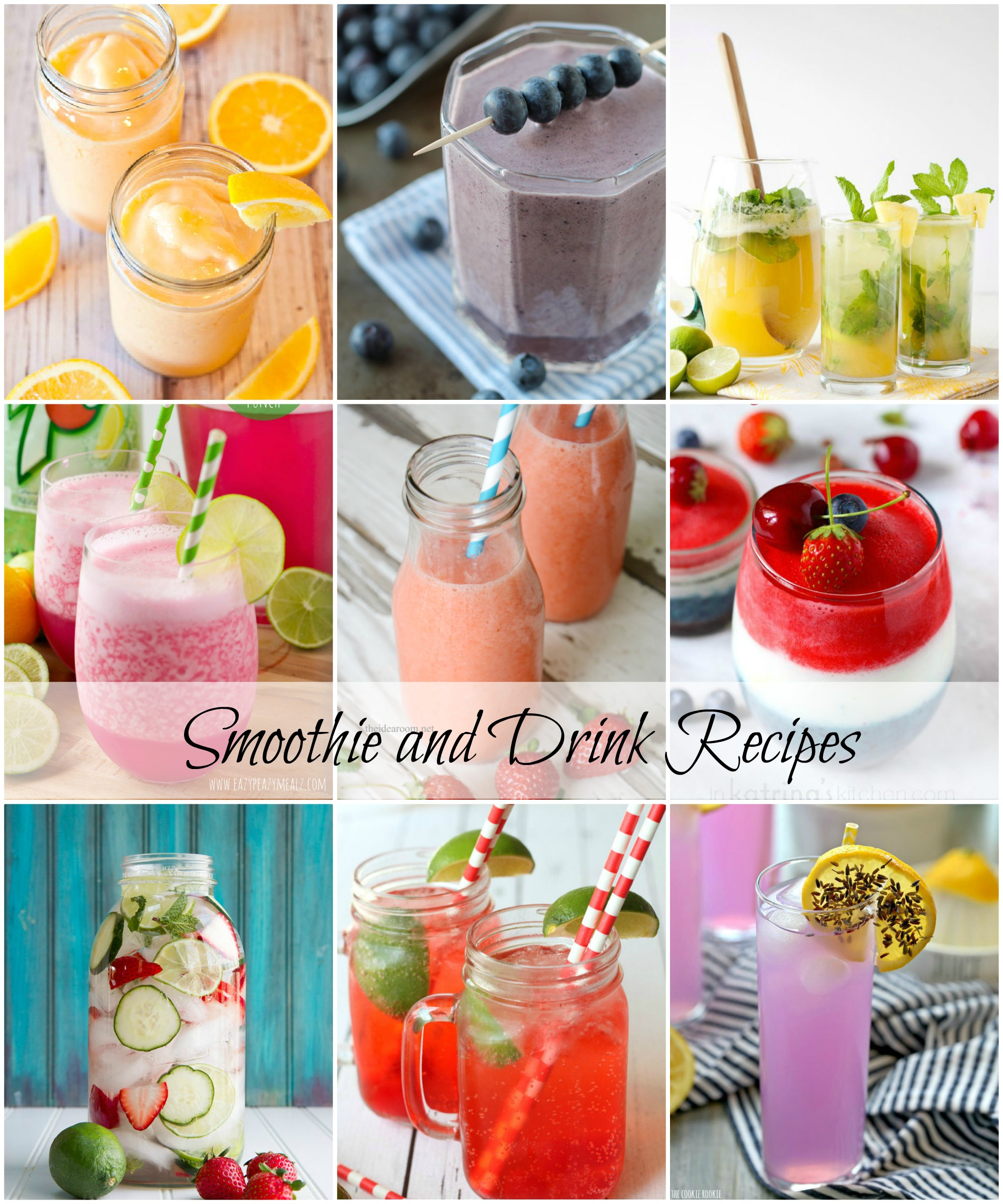 Top-40-BEST-Smoothie-and-Drink-Recipes-