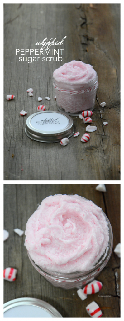 Whipped Peppermint Sugar Scrub pin