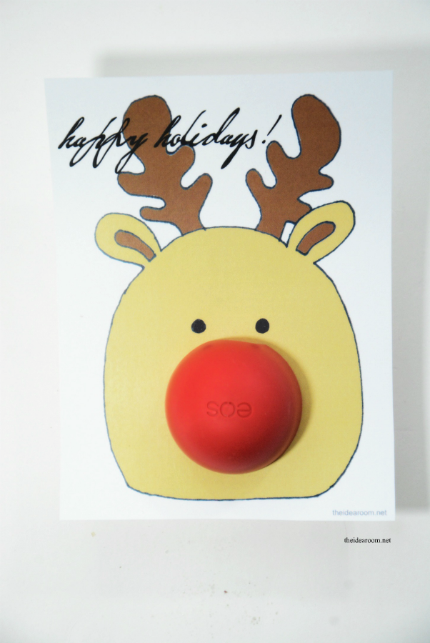 image about Pin the Nose on Rudolph Printable identify eos Xmas Reward - The Concept House