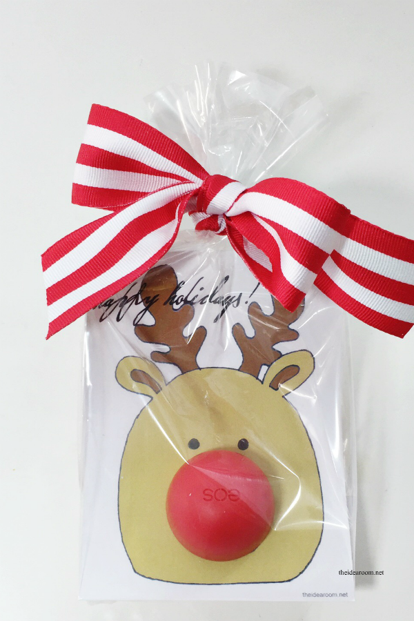 picture about Pin the Nose on the Reindeer Printable called eos Xmas Present - The Concept Space