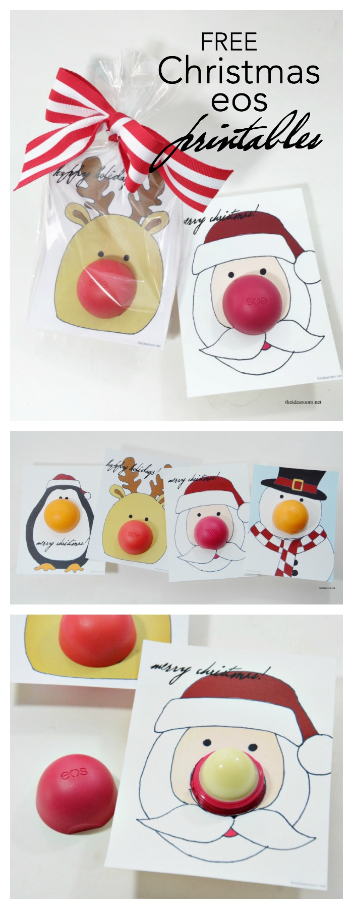 photograph about Pin the Nose on the Reindeer Printable called eos Xmas Reward - The Concept Place