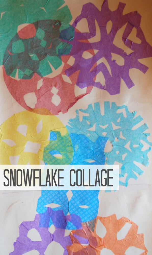 snowflake-collage