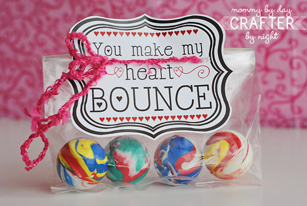 14 days of Valentines bouncy balls
