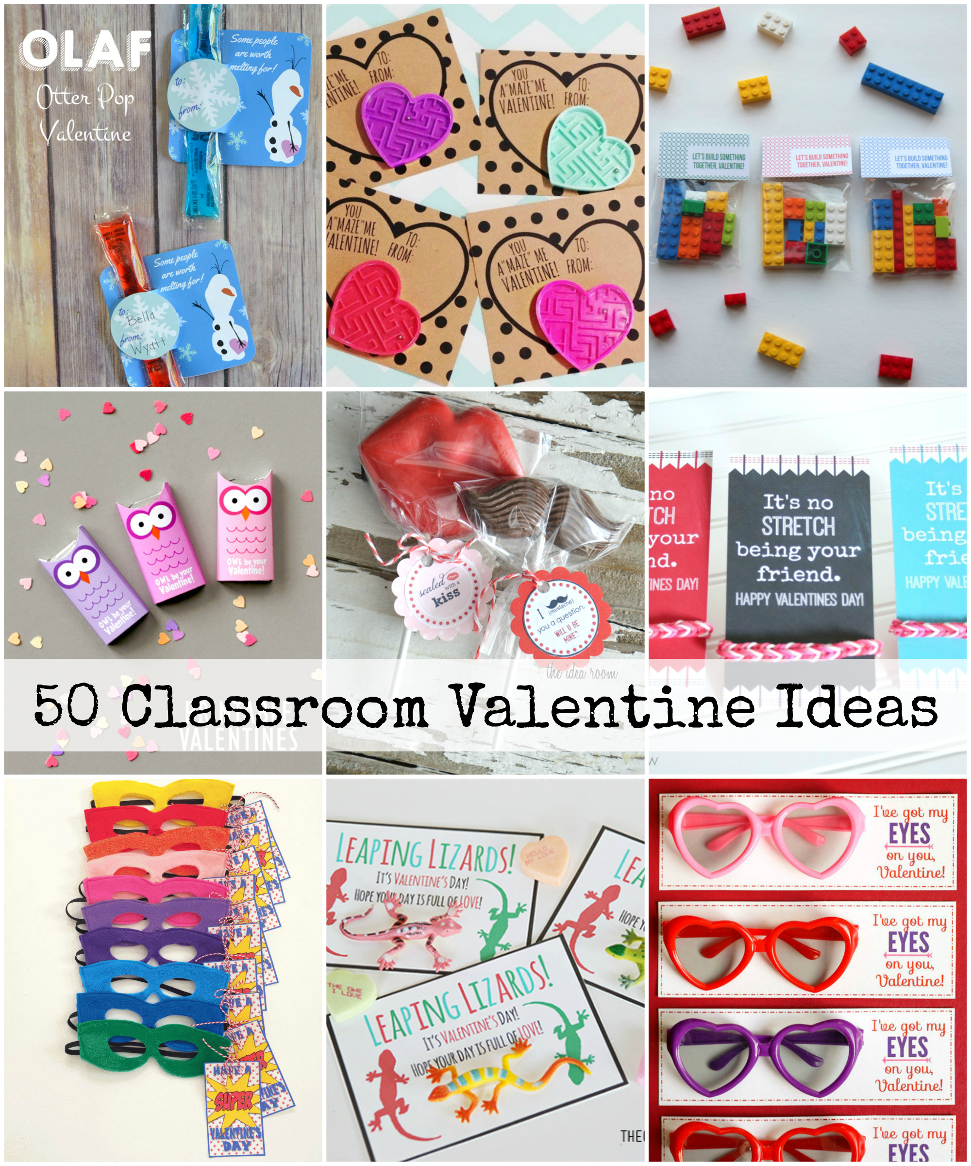 Non Candy Classroom Valentines The Idea Room