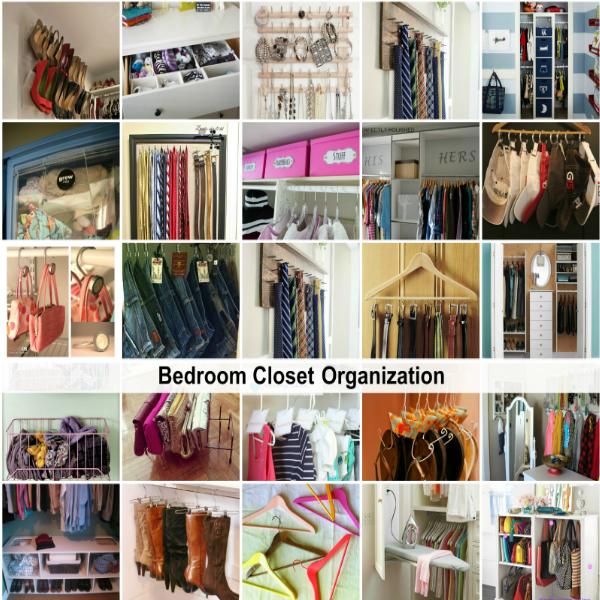 Bedroom Closet Organization Ideas