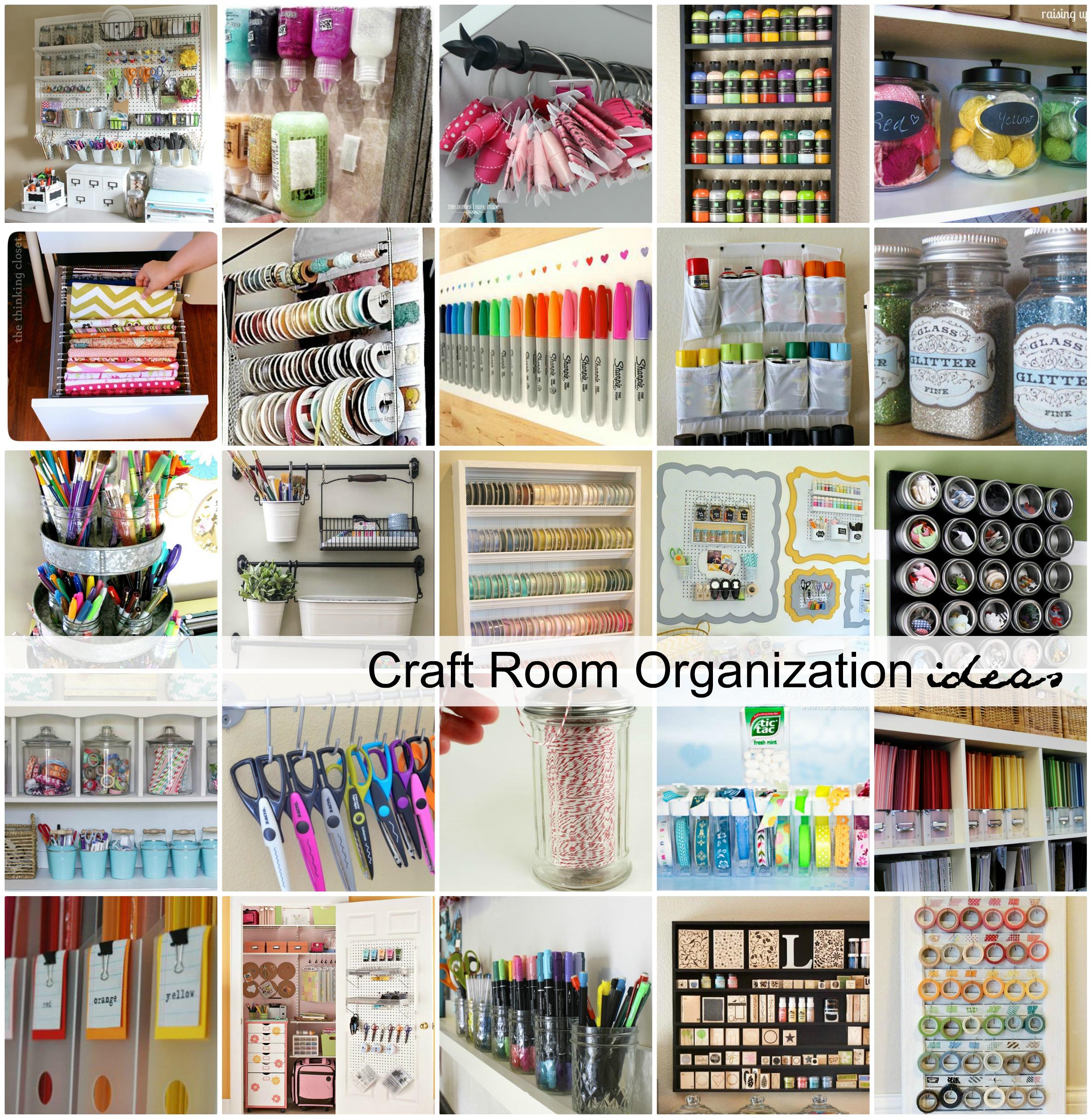 Good Craft Organization Storage Ideas