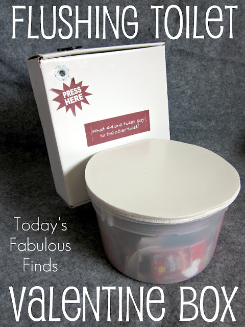 Flushing Toilet Valentine's Day Box_4218