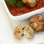 These Slow Cooker Meatballs are so easy to make and are the perfect appetizer dipped in marinara or alfredo sauce. Also great on top of your favorite pasta.