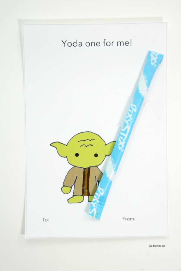 photograph about Star Wars Printable Card identify Printable Star Wars Valentines - The Strategy House