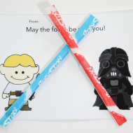 Printable Star Wars Valentine's