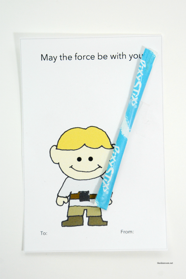 Star Wars Valentines Lightsabers 6