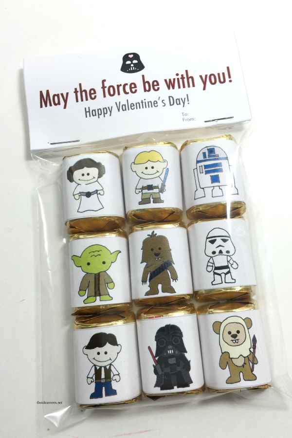 Star Wars Valentines Wrappers 1