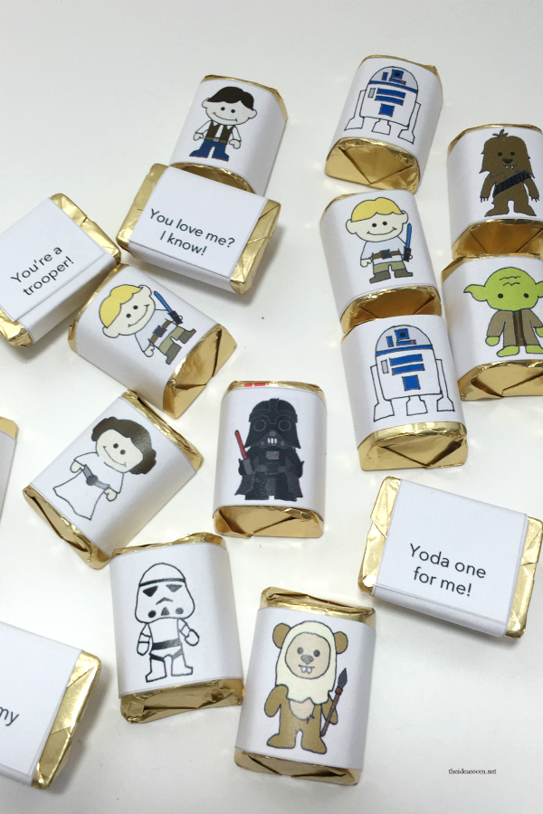 Star Wars Valentines Wrappers 6