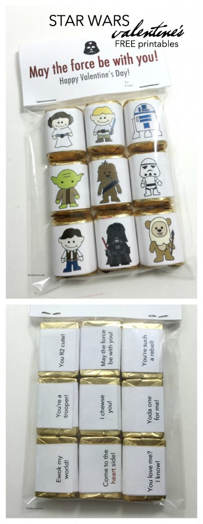 Star Wars Valentine's Wrappers pin