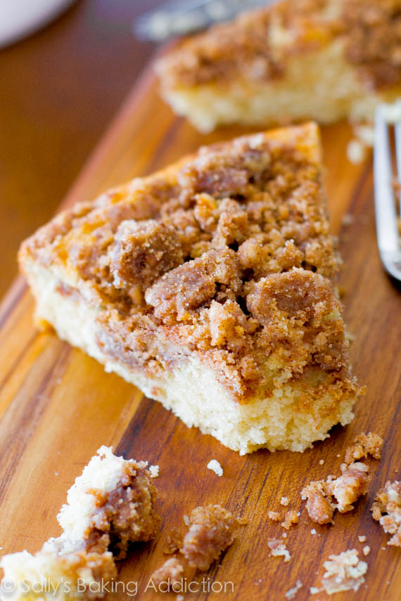 Super Crumb Coffee Cake from sally's baking addiction