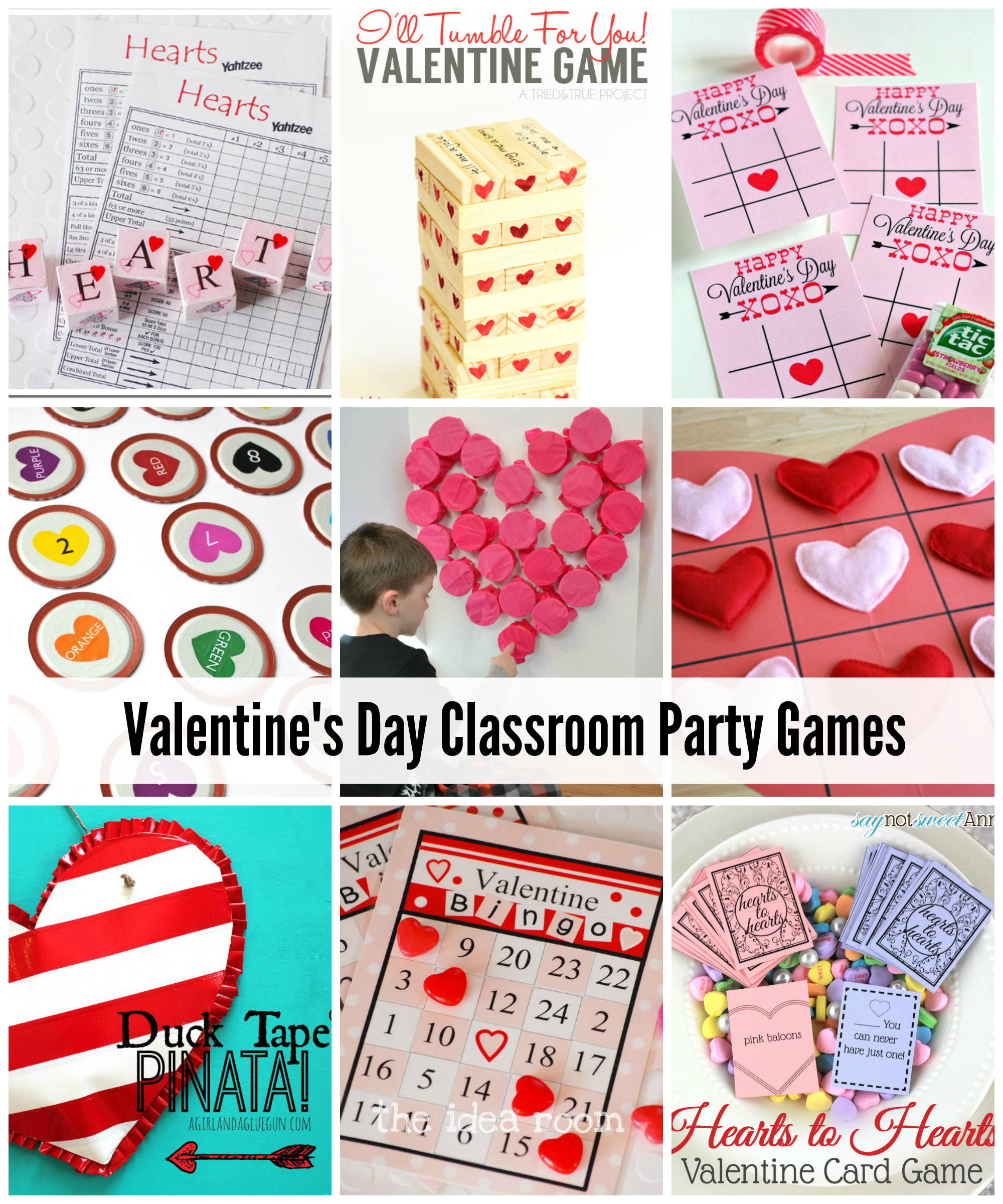 Valentine Class Games  Minutes  Kids