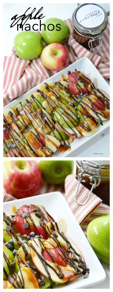 Recipes | Apple Nachos are one of my favorite healthy snacks. So easy to make and totally customizable to your taste preferences. Make them now!