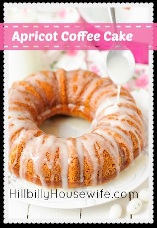 Apricot Sour Cream Pound Cake