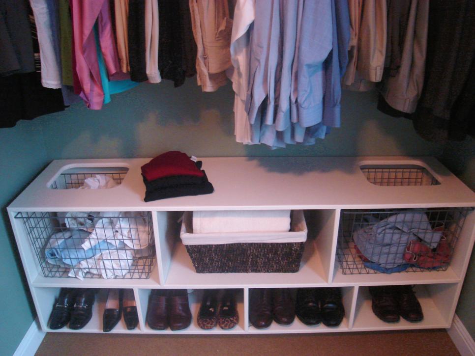 Bedroom Closet Organization Ideas - The Idea Room
