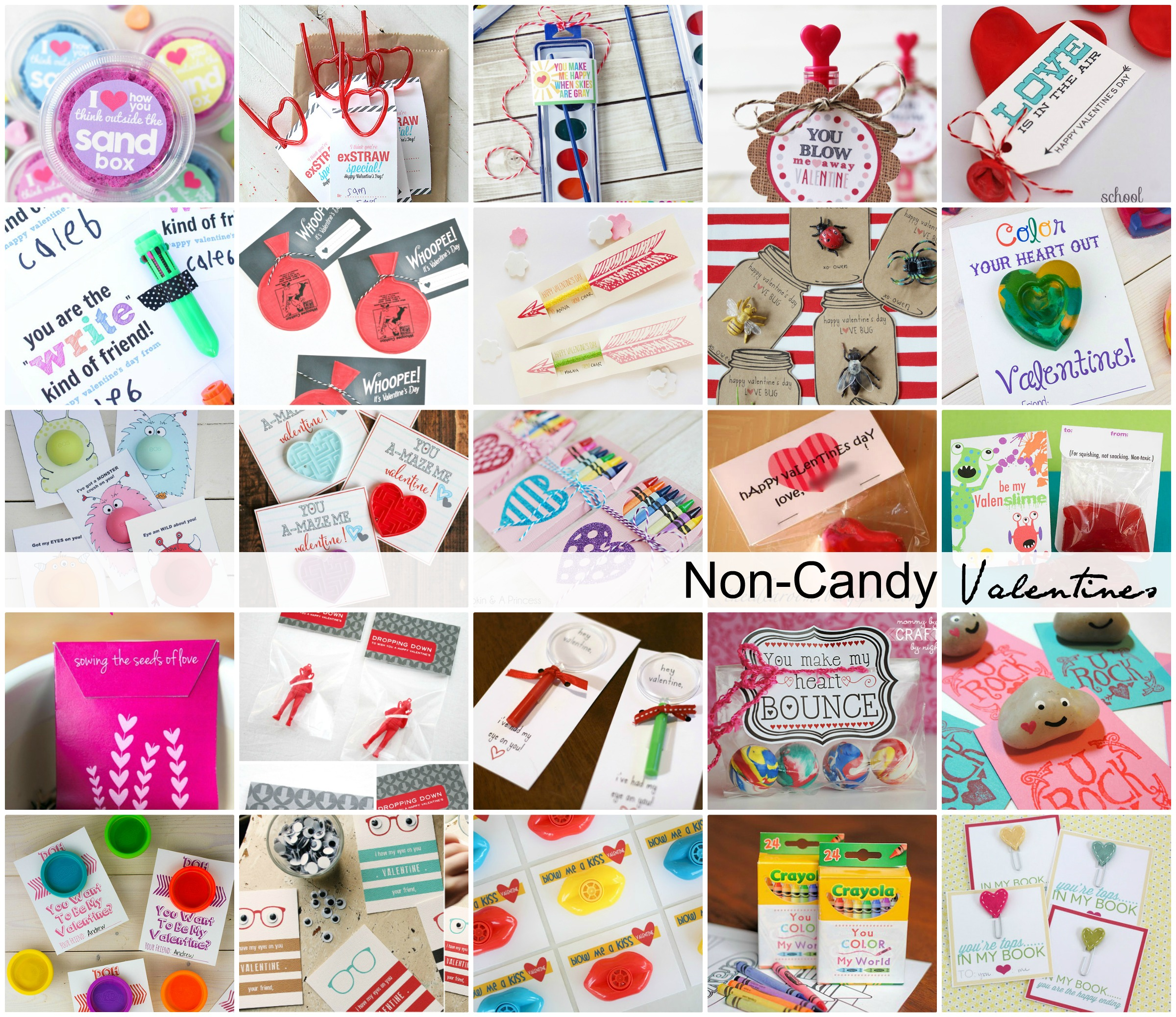 Valentine S Day Classroom Ideas ~ Non candy classroom valentines the idea room