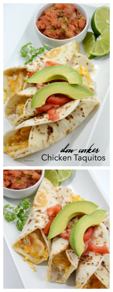 recipes | A tried and true family favorite recipe. Slow cooker Chicken Taquitos are delicious. Easy and fast, your whole family will love it.