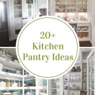 Organized Kitchen Pantry Ideas
