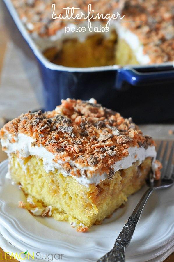 Peach Poke Cake Recipes