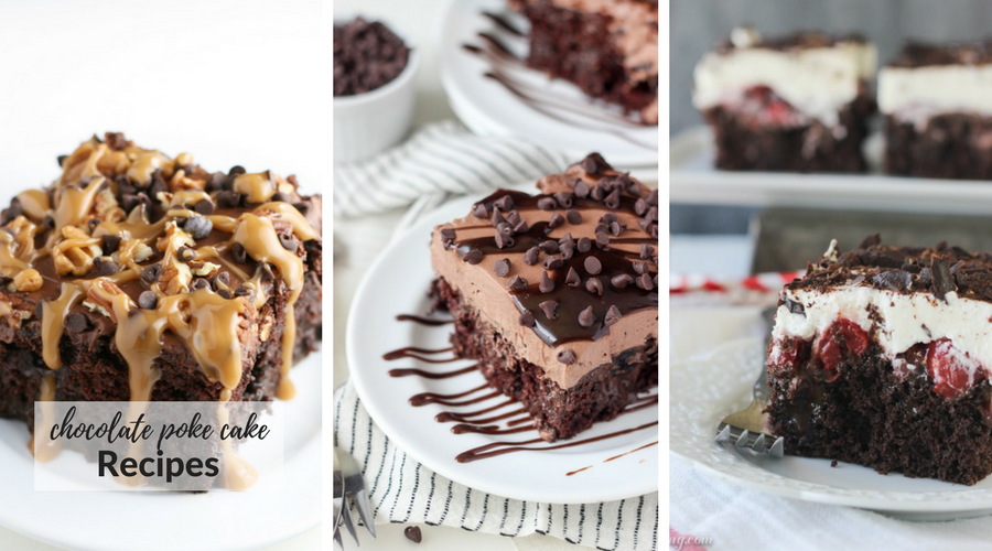 chocolate poke cake recipes