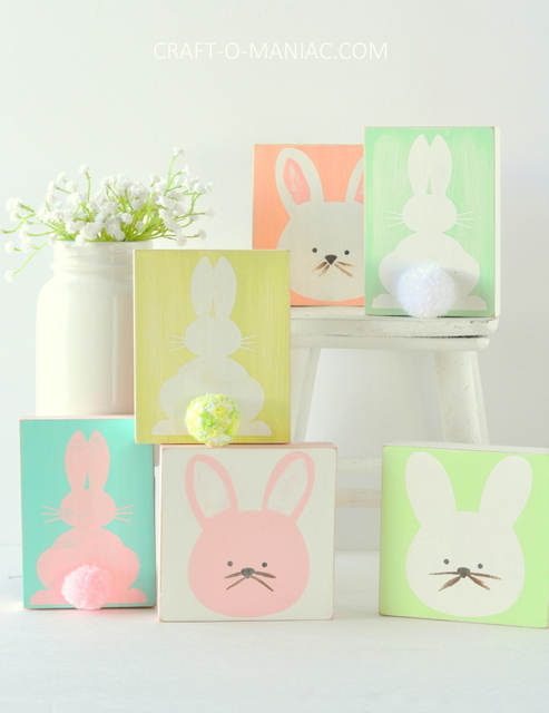 DIY-stenciled-wood-bunnies