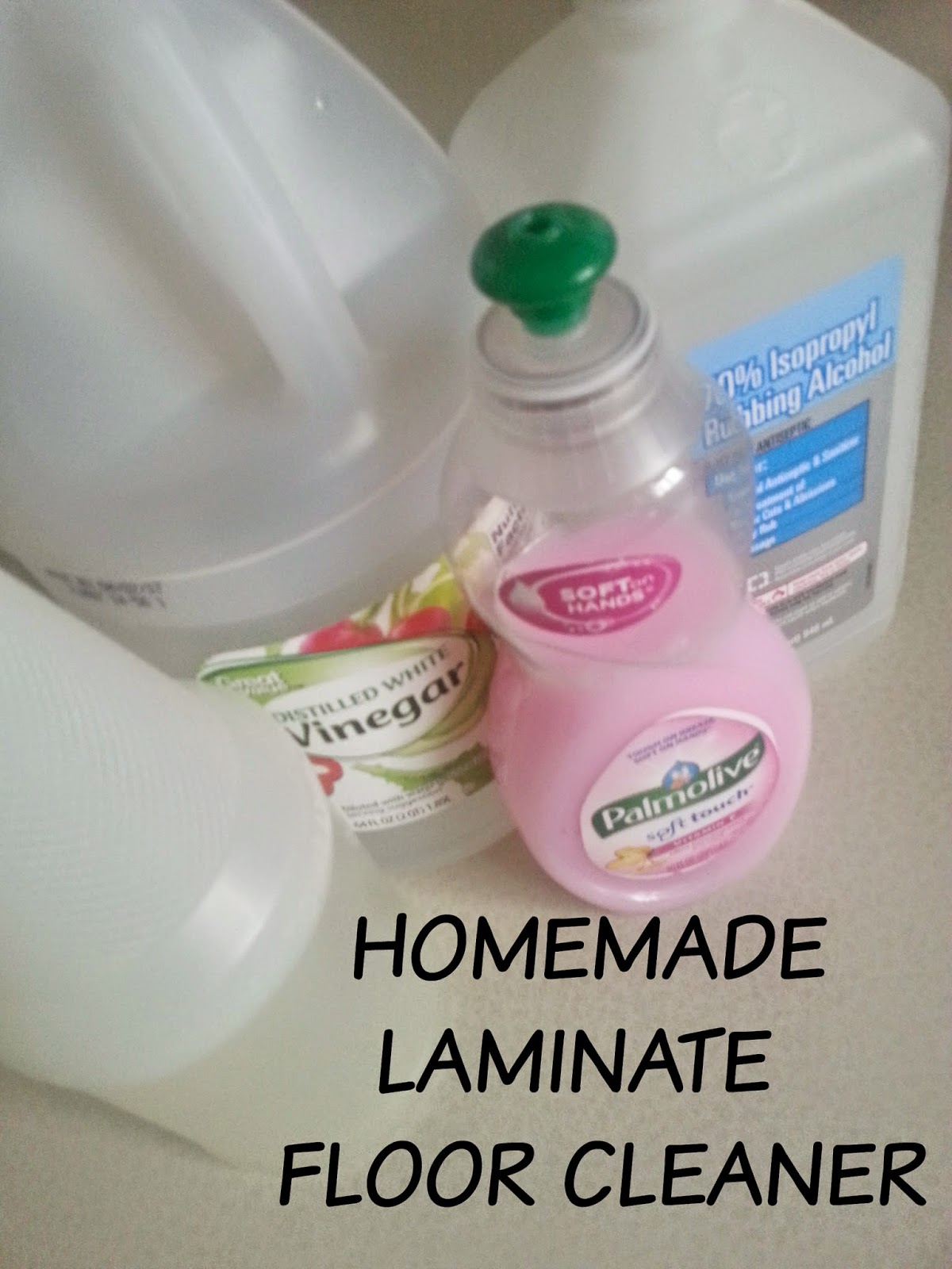 Homemade Laminate Floor Cleaner