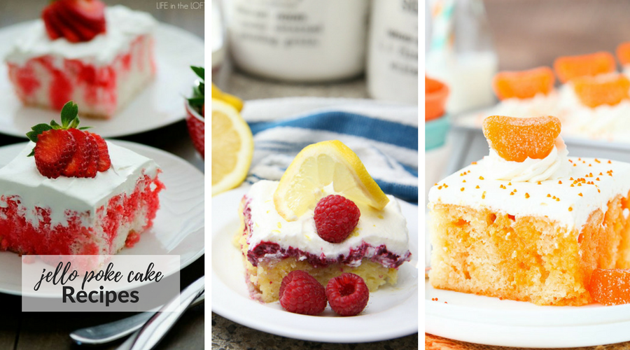 jello poke cake recipes